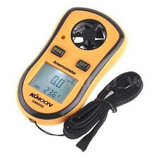 LCD Wind Speed Gauge Meter Anemometer NTC Thermometer B