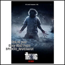 Fridge Fun Refrigerator Magnet THE THING MOVIE POSTER Version E 80s Horror SciFi