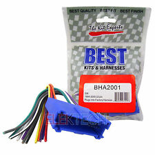 BHA2001 Aftermarket Radio Replacement 32-Pin Harness Buick/Cadillac/Oldsmobile