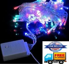 400 LED Christmas/Party lights Indoor/Outdoor (RGB) Red, Green, Blue 4X 10 meter