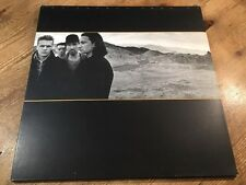 LP Island Records ‎U26 --- U2 ‎– The Joshua Tree UK FIRST PRESS 1987 FOC VINYL