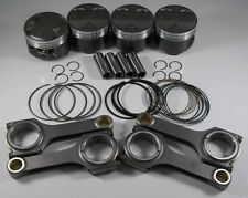 JDM Nippon Racing H22A4 Type S Pistons Rings Scat H-BEAM Rods SH SI Prelude 87mm