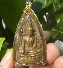 Locket tablet bronze Lord  Buddha Pra Putachinarat Wat Chinatat Temple