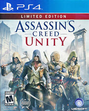 Assassin's Creed Unity (Limited Edition) PS4 Game (English, Portuguese, Spanish)