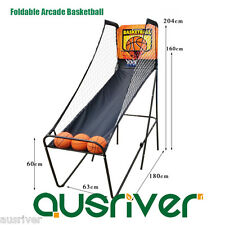 New Adults Foldable Arcade Basketball Game Rebound Christmas Gift Mullion 1918