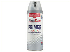 Twist & Spray Plastic Primer 400ml Primer / Undercoat Paints & Sprays