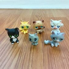 LPS Littlest Pet Shop CATS LOT With KITTEN # 198