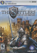 THE SETTLERS RISE OF AN EMPIRE Strategy PC Game NEW BOX