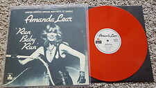 Amanda Lear - Run baby run UK 12'' Disco RED VINYL