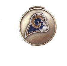 Los Angeles (LA) Rams Hat Clip with Golf Ball Marker