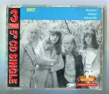 Sweet  cd-maxi  BLOCKBUSTER - HELLRAISER - BALLROOM BLITZ  © old gold 1991 UK