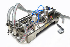 10-300ml Two heads liquid filling machine for oil,perfume,  juice filler