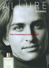 Chanel Allure Fragrance 2003 Magazine Advert #67