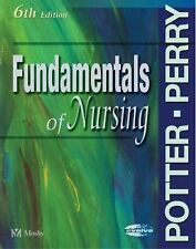 FUNDAMENTALS OF NURSING 6TH EDITION HB POTTER-PERRY 2005 W/ CD!