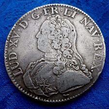 MONNAIE ANCIENNE UN ECU  LOUIS XV 1727 A PARIS  EN ARGENT A VOIR!!!