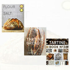 Flour Water Salt Yeast,Tartine Bread,Tartine Book Baking 3 Cook Books Set New