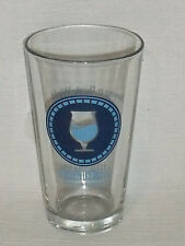 """Groundswell Beer Pint Glass Cup Brewing Co California Vtg 5.75"""" San Diego"""