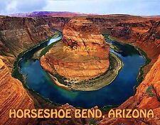 Arizona - HORSESHOE BEND - Travel Souvenir Flexible Fridge Magnet
