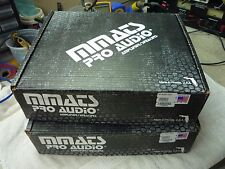 MMATS M3000.05D 3000WRMS MONO SUB AMP, NEW IN BOX NEVER MOUNTED, USA!!! EACH