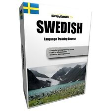 LEARN TO SPEAK SWEDISH LANGUAGE TRAINING COURSE PC CD NEW