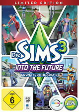 Die Sims 3: Into The Future - Limited Edition (PC/Mac, 2013, DVD-Box)