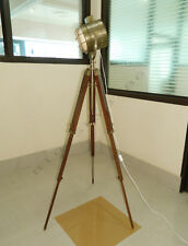 DESIGNER HAND MADE RUSTIC NAUTICAL SPOT LIGHT FLOOR LAMP, MODERN industrial