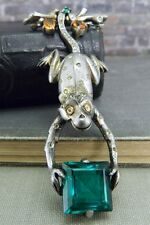 Vintage/ Antique 1940's Alfred Philippe Trifari Sterling Monkey Pin/ Brooch