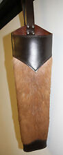 IMPALA SKIN LEATHER BACK QUIVER/TRADITIONAL ARCHERY