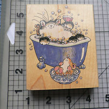 "Penny Black Wood mounted rubber Stamp Margaret Sherry 2001 "" It's Your Day"""