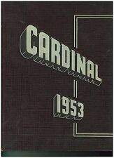 1953 South Division High School Milwaukee WI  Year Book