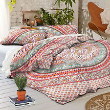 Indian Duvet Doona Cover Comforter Mandala Hippie Bohemian Queen Quilt Cover Art
