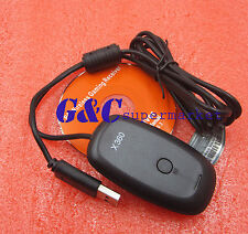 Wireless Gaming USB Receiver Adapter For Xbox 360 Games Controller Win7