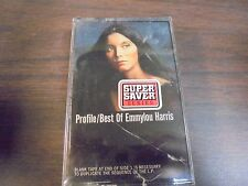 "NEW SEALED ""Best Of Emmylou Harris     Cassette Tape  (G)"