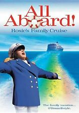 ALL ABOARD ROSIE'S FAMILY CRUISE Region Free DVD - Sealed