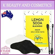 [Etude House] Lemon Soda Blackhead Remover Dual Kit 1 Pack Black Head Kit