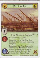 3 x Fleet from Lys AGoT LCG 1.0 Game of Thrones Reach of the Kraken 8