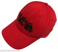 QUIKSILVER  KEMBA RED BASEBALL CAP UNISEX FLEXFIT BRAND NEW WITH TAGS