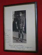 VILLERS- DAUCOUR - ARGONNE SEPT. 1918 /1931 TO SMITY FROM HIS FRIEND /1ST DOCTOR