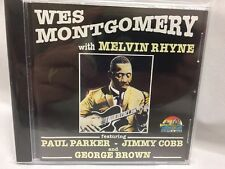 Wes Montgomery with Melvin Rhyne (CD, 1996) ~ Jazz ~ Like NEW Condition