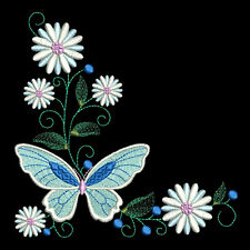 FLUTTERBY CORNERS - 30 MACHINE EMBROIDERY DESIGNS (AZEB)