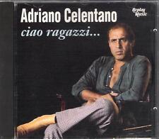 """ADRIANO CELENTANO - RARO CD FUORI CATALOGO 1993 """" CIAO RAGAZZI ... """""""