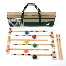 Lion Sports 20457 Premier 6 Player 28 Croquet Set New