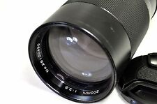 Vivitar 200mm f3.5 Manul Focus Lens adapted to Sony E mount cameras NEX 5R 5N 6
