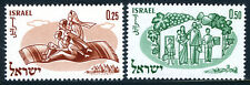 "Israel 178-179, MNH. World Refugee Year. Operation ""Magic Carpet"", Family, 1960"