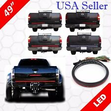 "49"" Long Sealed LED Pickup Truck Tailgate Light Bar Strip 5 Functions New"