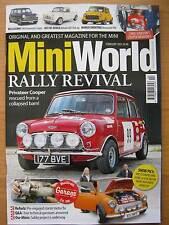 Mini World February 2015 Cooper rally Innocenti Pick-Up deseamed 998cc Ritz