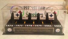 Pittsburgh Steelers Set Of All 6 Super Bowl Championship Replica Rings