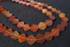 Vecchio AGATA PERLE flnanzarla-pietra superiore 94cm Antique tabulare Agate trade beads afrozip