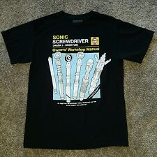 Rare Dr Who Haynes Sonic Screwdriver owners manual youth size M