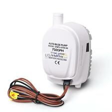 12V 750GPH Boat Submersible Automatic Auto Bilge Water Pump With Float Switch